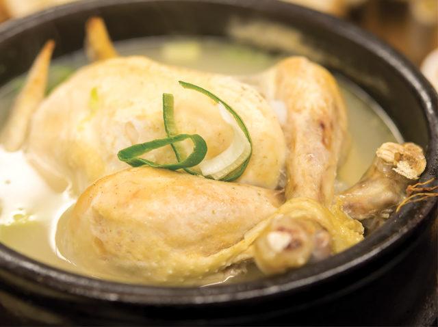 La poule entière